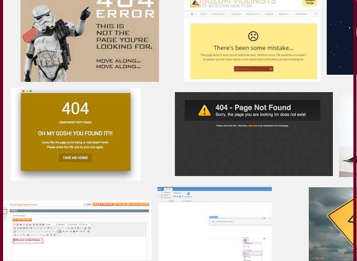 如何編輯或產生自訂的404頁面(自製特色錯誤頁面)
