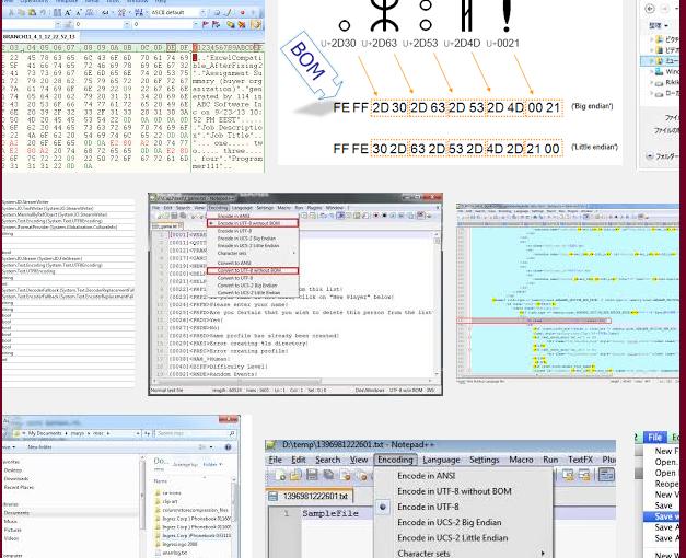 如何將 utf8 + bom 轉為 utf8 的編碼格式