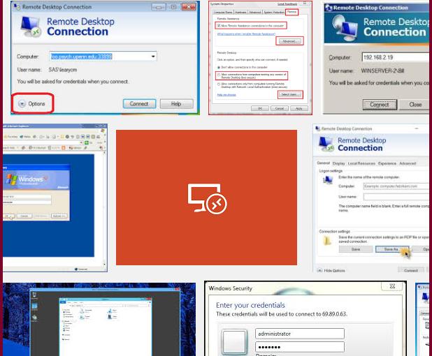 修改windows遠端桌面的預設port,以增加安全性