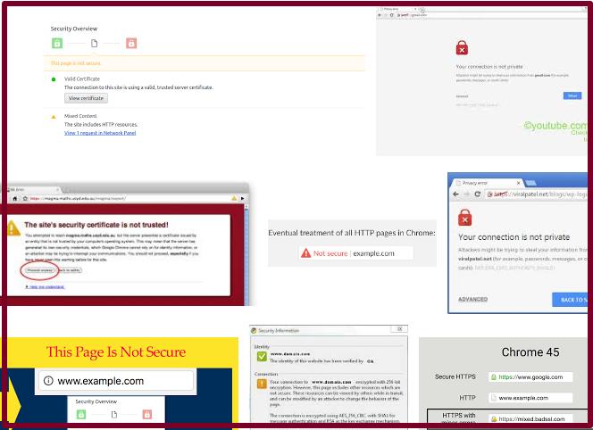 我的網站為什麼被 chrome 列為不安全?
